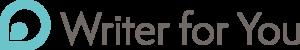 Writer for you logo 2019 300x50